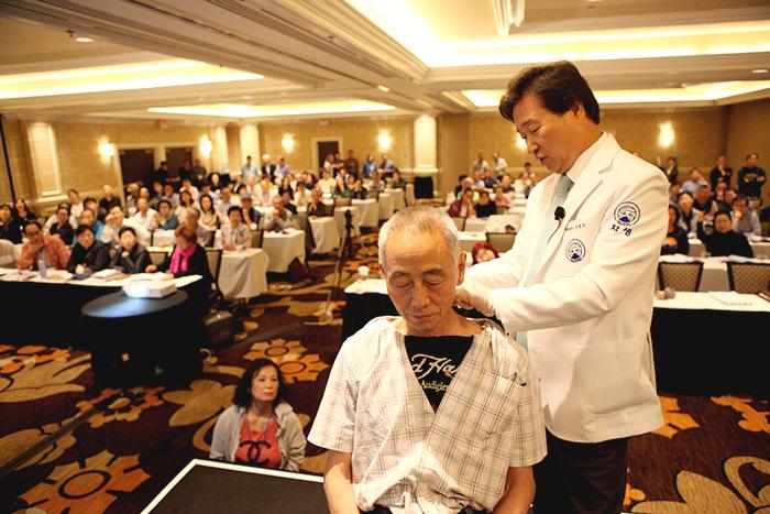 シンジュンシク 自生韓方病院 韓方 漢方 ラスベガス アメリカ 鍼灸 鍼 針