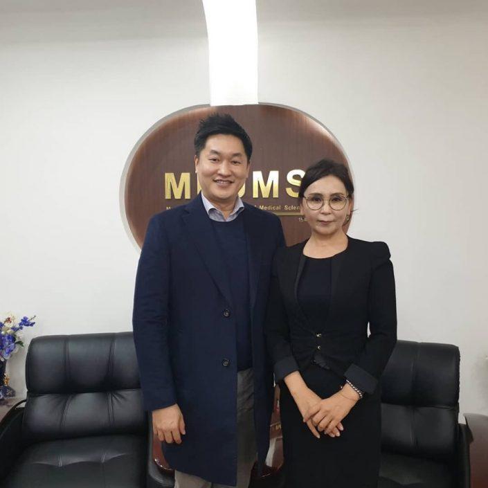 モンゴル国立医科大学