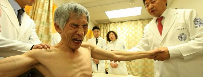 五十肩の無手術治療動画:自生韓方病院 (患者治療例紹介)