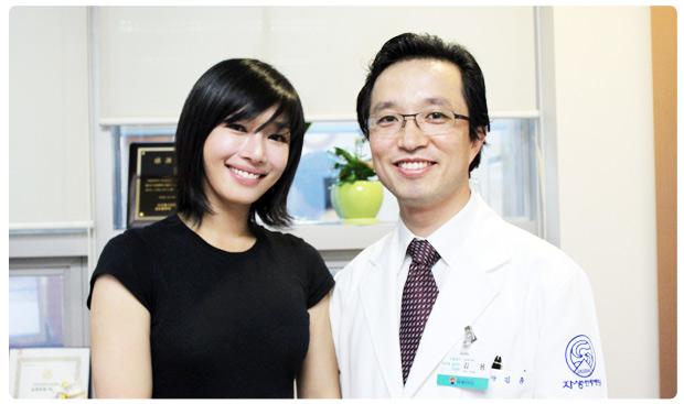 映画俳優ソン・ウソン、自生韓方病院来訪